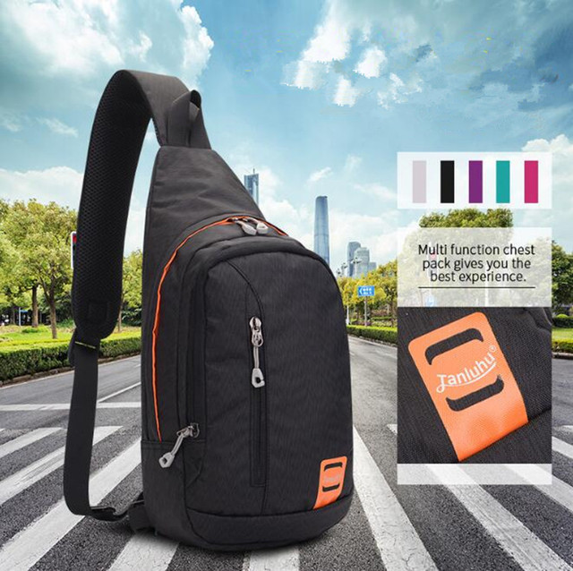 e8032679c50a US $24.59  City Jogging Bag WOMEN MEN Waterproof Color Lightweight Backpack  Outdoor Travel Hiking Camping Travel Climbing Fitness Mini Bags-in City ...