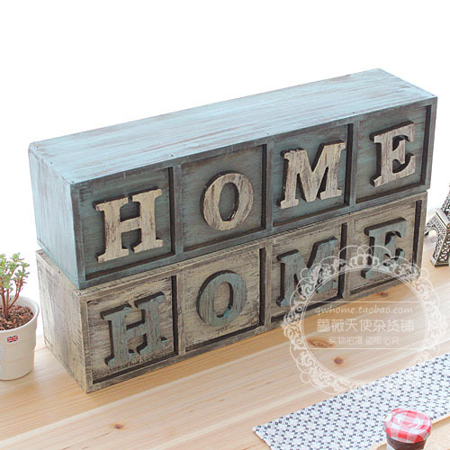 Free shipping,French vintage muons logs storage box home decoration wall box cargo box/45*12*11cm