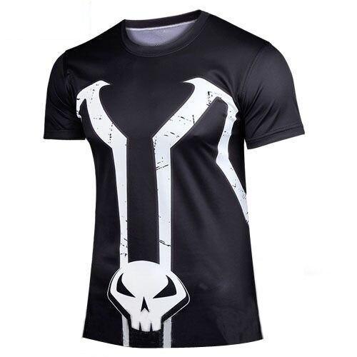 hot tops Super heroes Men short sleeve Mesh T-Shirt Sweat tshirts casual t shirt free ship