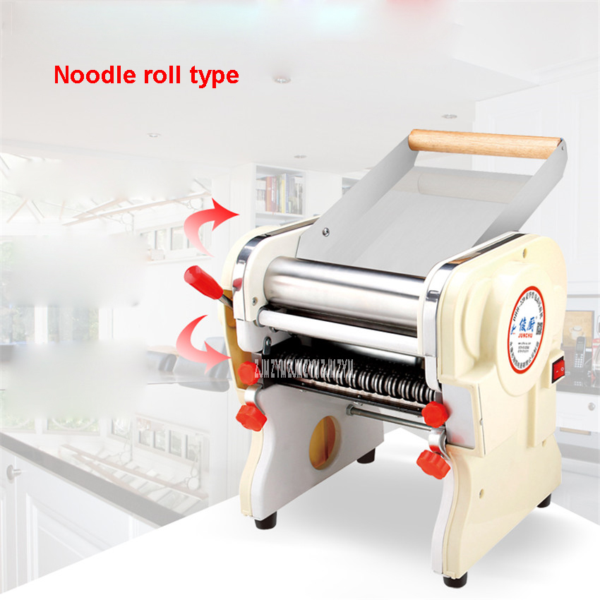 DHH220 Stainless steel household electric pasta pressing food grade material commercial Electric Noodle Makers 22cm width 1pc household mini pasta machine manual metal spaetzle makers pressing machine pole head mingled split noodle tools