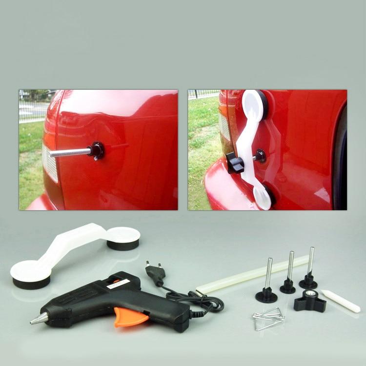Car Dent Repair Tool Sheet Metal Tool Hot Melt Glue Gun Body Bump Repair 12V Electric Puller hand tools