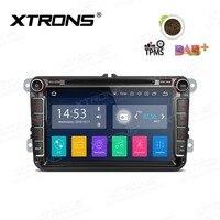 XTRONS 8 Android 8.1 Car DVD Player RDS Radio WIFI GPS for Volkswagen vw Beetle Bora Caddy Passat CC Sharan T5 Multivan Touran