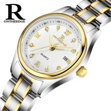 Top Brand Women Quartz Watches Fashion Exquisite Metal Stainless Steel Waterproof Ladies Dress Watch Relogio Feminino