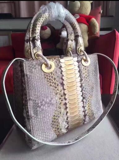 real snakeskin top quality  luxury handbags women bags designer	bags handbags women famous brands free  shipping with dustbag
