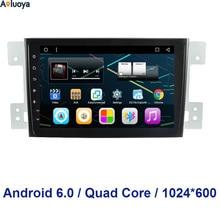 8 pulgadas 1024*600 Quad Core 6.0.1 Android Radio de COCHE DVD GPS jugador PARA Suzuki Grand Vitara 2007-2015 de Navegación audio Del Coche WIFI 3G