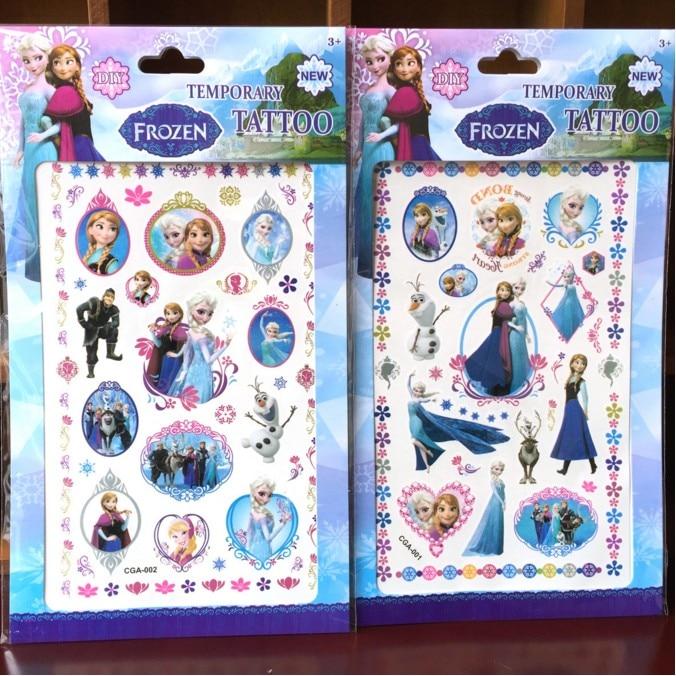 Whosale Cartoon Ice Princess Family Custom Design Adhesive Free