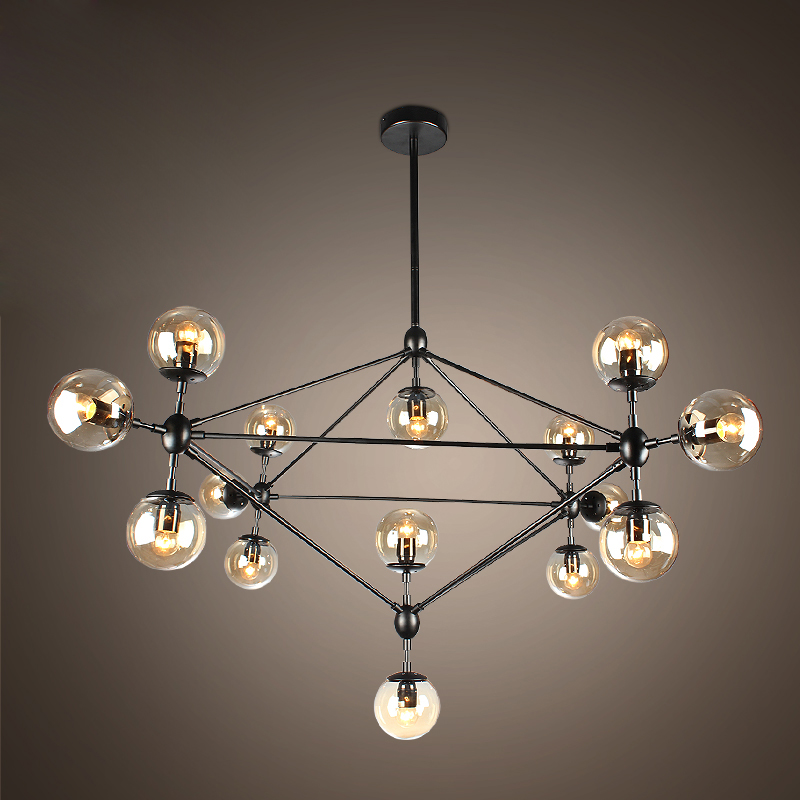 Retro loft industrial magic beans pendant lamp dinning room light indoor decoration lamp E27 110v 220v free shippping industrial chandeliers ancient magic beans chandelier dining room sitting room art pendant lamp northern europe