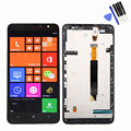 Black Original For Nokia Lumia 1320 LCD Display Touch Screen Digitizer Full Assembly Bezel Frame Free tools Replacement