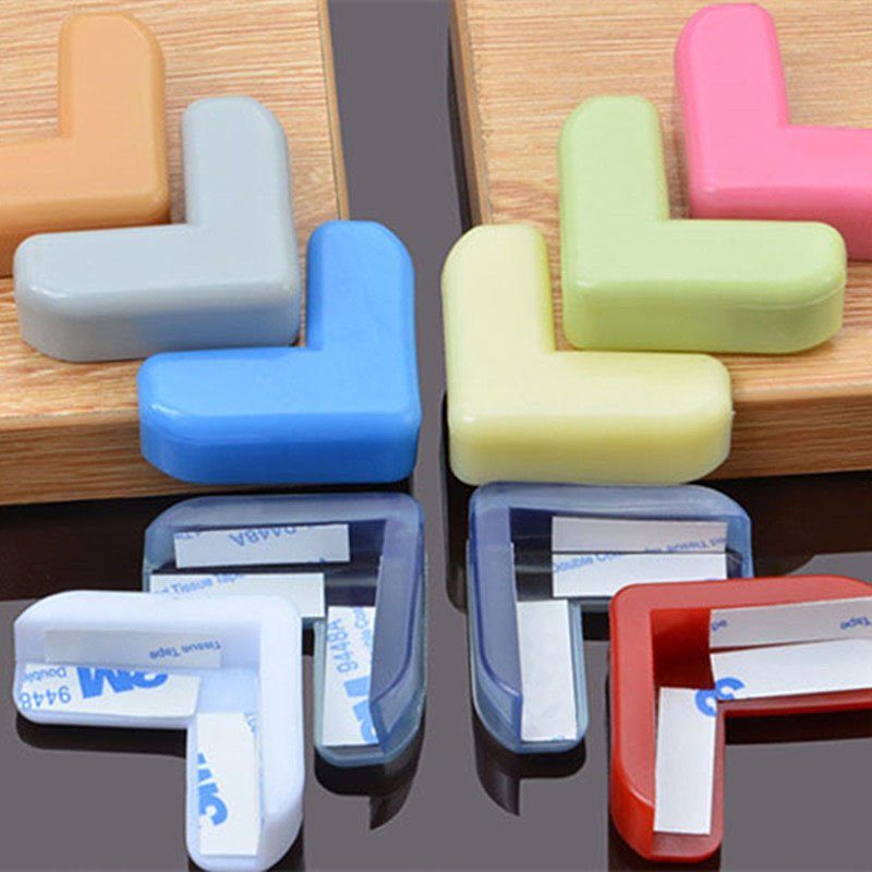 20PCS PVC Soft Multicolor Baby Children Kids Safe Bed Table Desk Corner Protector Furniture Accessories 20pcs pvc soft baby children kids safe bed table desk corner protector cover furniture accessories white green coffee