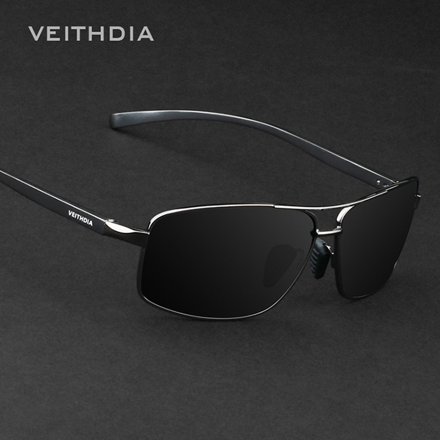 Aluminum Magnesium Brand New Polarized Men's Sunglasses Veithdia