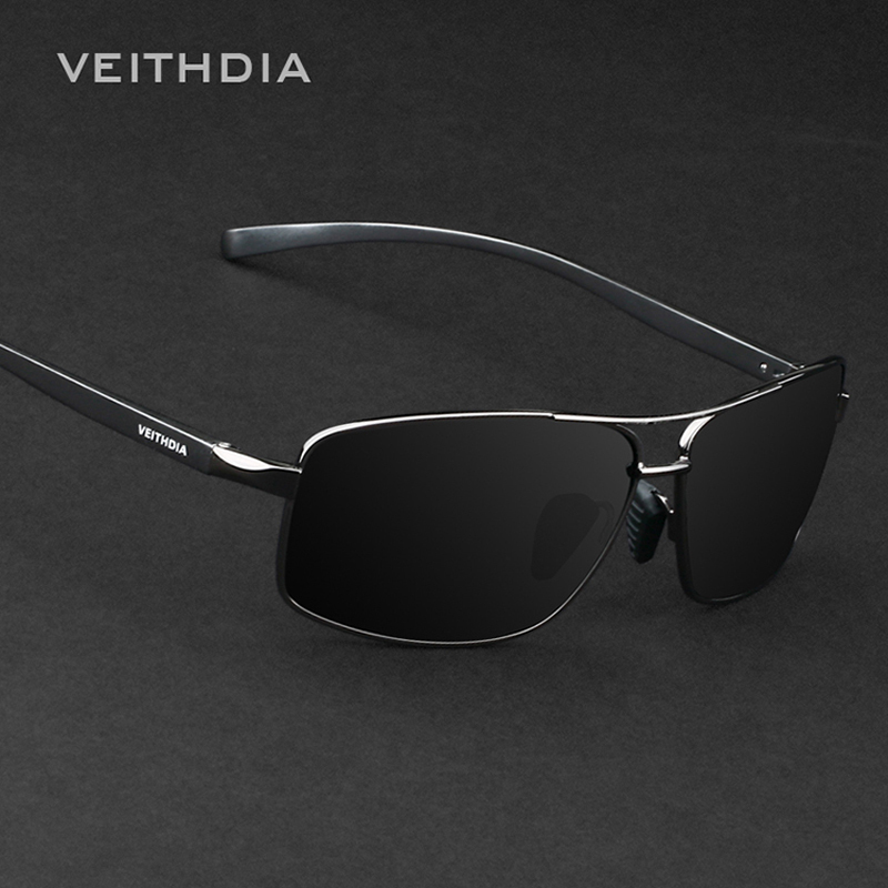 polarized sunglasses for men 0x34  VEITHDIA Aluminum Magnesium Brand New Polarized Men's Sunglasses 3 Color  Sun Glasses Men Driving Goggle Eyewear