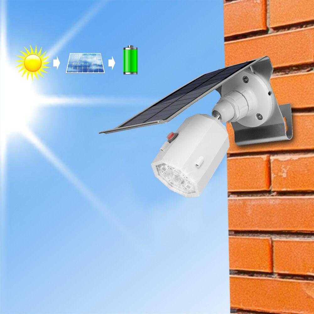 10 Led Motion Sensor Light Motion Sensor Pir Solar Lamp