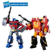 Hasbro Transformers Power of the Primes Series Leader Ast 8.75Inch Optimus Prime And 9.75Inch Rodimus Prime Rodimus Unicronus