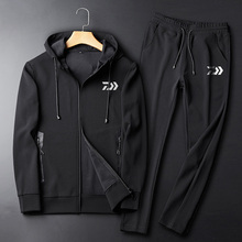 2019 New Fishing Hooded Jacket Pants Coat DAWA Clothing Trousers DAIWA Sweatshirt Set Clothes
