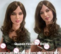 Top quality 158cm silicone vagina sex doll with teeth, lifelike adult love dolls, realistic sexy doll, sex products