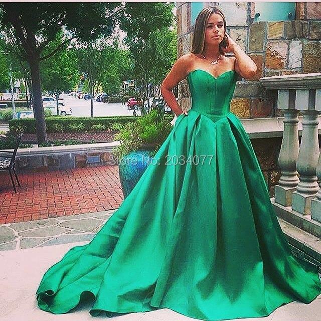 Online Get Cheap Emerald Satin Dress -Aliexpress.com | Alibaba Group