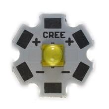 50PCS CREE 5050 20W Flip chip 5700K 6000K PCB20 MM XML XM-L XBD XPE XPL T6 LED U2 blanco LED de alta potencia chip 3pcs cree 5050 20w flip chip 5700k 6000k pcb20 mm xml xm l xbd xpe xpl t6 led u2 blanco led de alta potencia chip