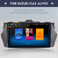 top quality Android 8.0 IPS HD Screen for SUZUKI CIAZ 2016+ CAR DVD GPS RADIO 4GB RAM 32GB FLASH Octa Core STEREO+DVR/WIFI+DAB