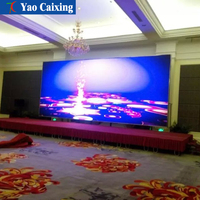 Customized Size smd2121 p5 40000Pixels density indoor full color led display hd china xxx video