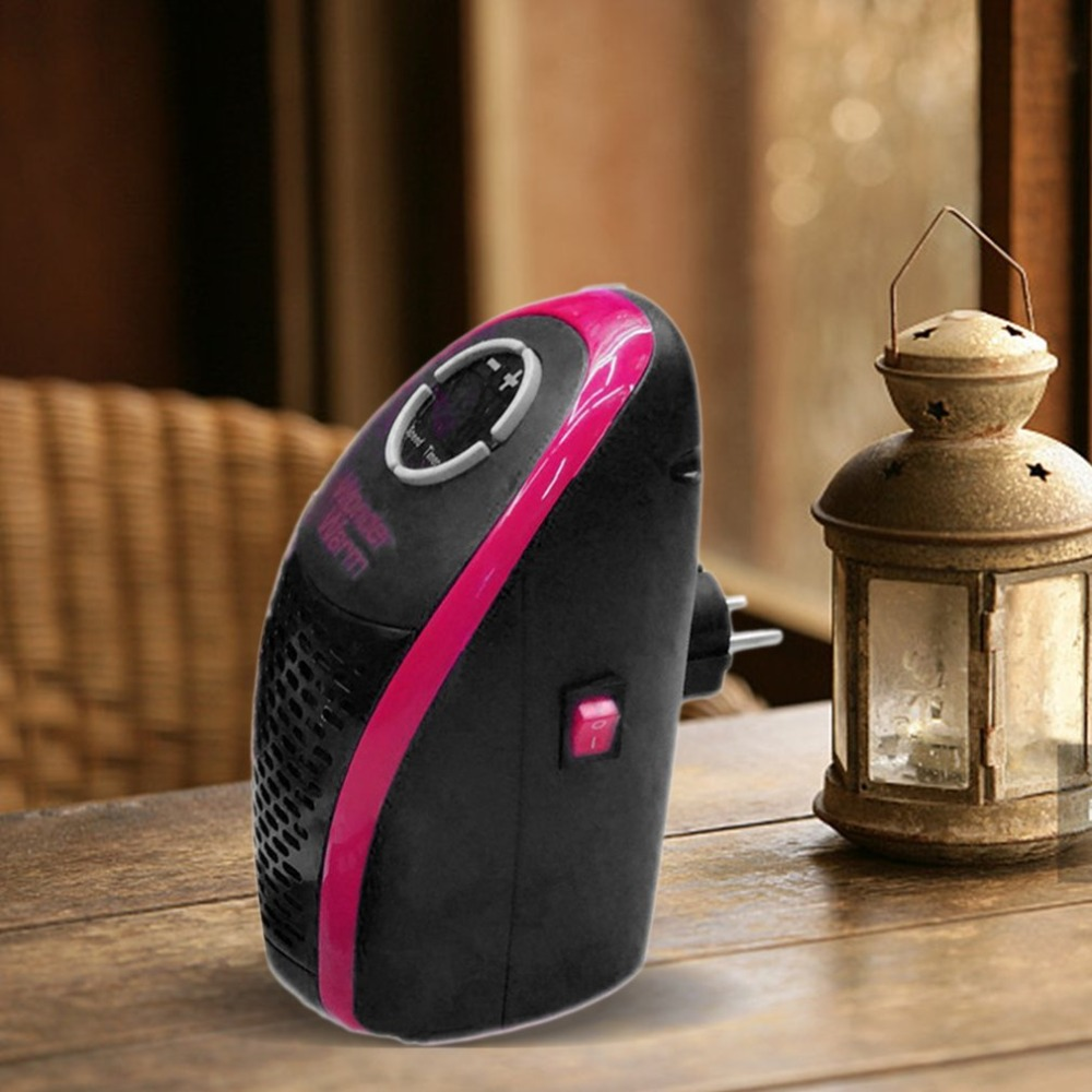 Wonder Warm Mini Heaters Remote Control Office Home Small Heater Compact Heater Indoor Electric Mini Desk Personal Small Heater