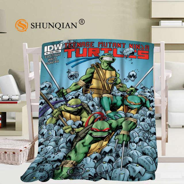 Personnalise Teenage Mutant Ninja Tortue Couverture Manta Falafel