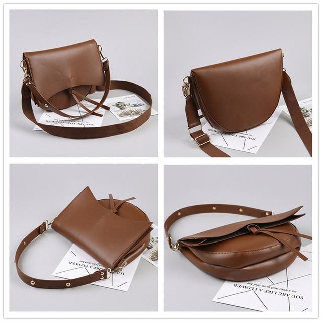 Vintage Saddle Shoulder Bags  5