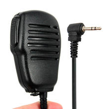 1 Pin 2.5mm Handheld Speaker Microfoon Microfoon voor Motorola Talkabout MD200 TLKR T5 T6 T80 T60 FR50 T6200 T6220 walkie Talkie Radio(China)
