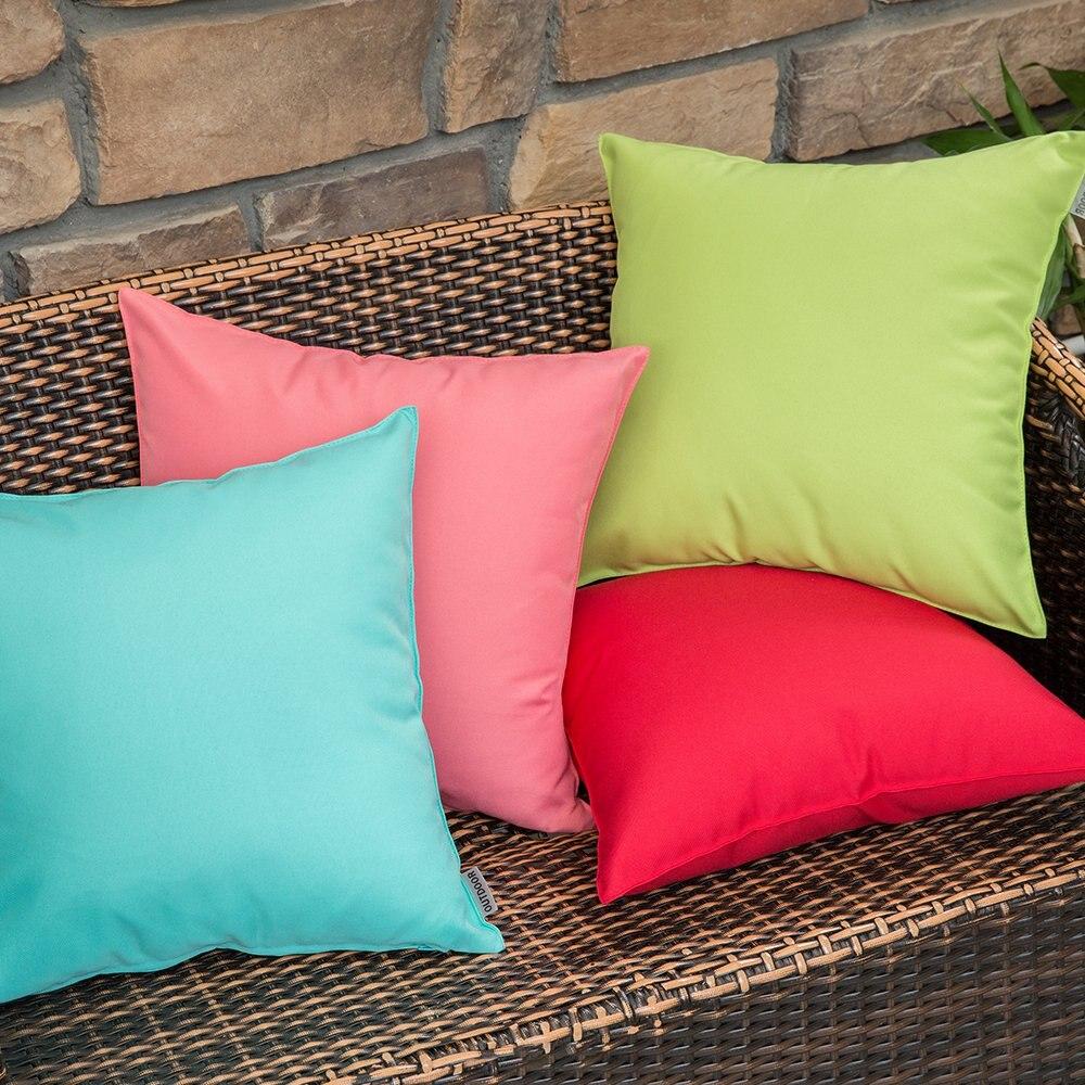 decorative outdoor waterproof pillow