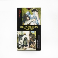78+2 pcs Original Italy Decameron Tarot cards game board game collection tarots English Instruction