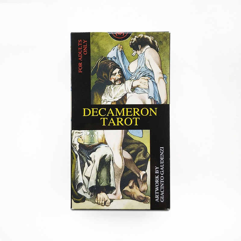 78 + 2 pcs Original italie Decameron Tarot cartes jeu plateau jeu collection tarots anglais Instruction