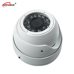 HYFMDVR 12V wide voltage 3 inch hemisphere reversing image car camera hd infrared night vision  truck / taxi / bus / private car