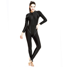 Women Swimwear 2018 Stinger/Diving Swimsuit High Quality Cover Up Zipper Retro Bodysuit Swim Wear Girl Sports