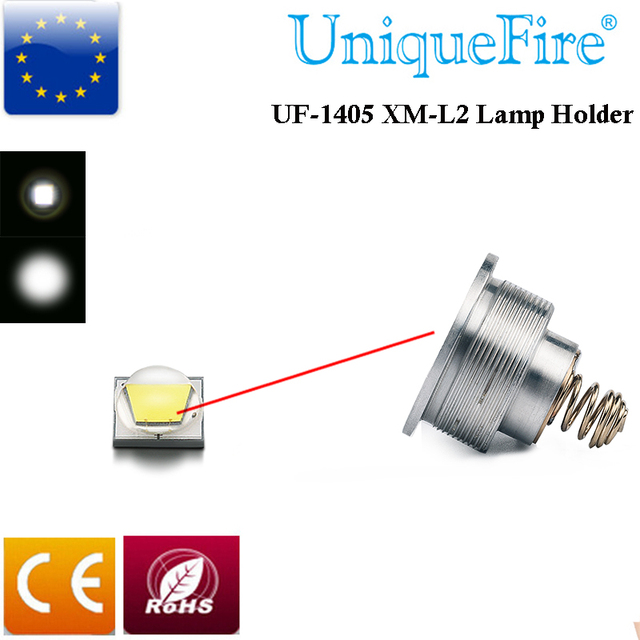 UniqueFire Import  XM-L2 Drop in pill White Light Led Bulb 5Mode(High/Mid/Low/Strobe/SOS) Driver for UF-1405 T67 Flashlight