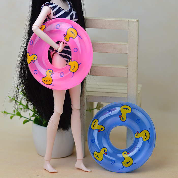 Mini Swimming Buoy For Barbie And Kelly Dolls 1:6 Doll And Equipment