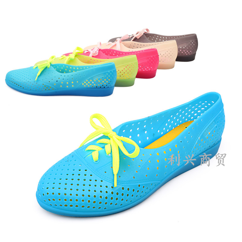 Women Crystal Plastic Jelly Shoes
