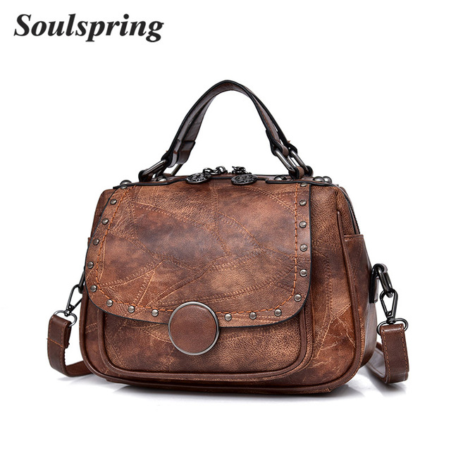 Fashion Genuine Leather Bags Women Handbag 2018 New Style Shoulder Bags Natural Leather Crossbody Bag Saddle Messenger Tote Bags