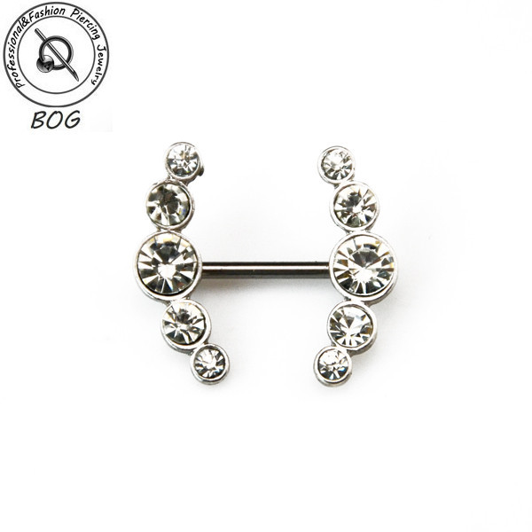 HTB1wSGOJXXXXXcRXXXXq6xXFXXXk BOG-Pair 316L Surgical Steel With CZ gem Nipple Ring Piercing Barbells