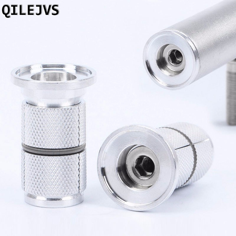 QILEJVS High Grade Bike Bicycle headset cap Hanging Core Expansion Screws Headset Aluminum Alloy For 28.6mm New