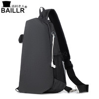 New Anti Theft Men USB Shoulder Bag Fashion Waterproof Trending Oxford Cloth Mens Crossbody Bag High