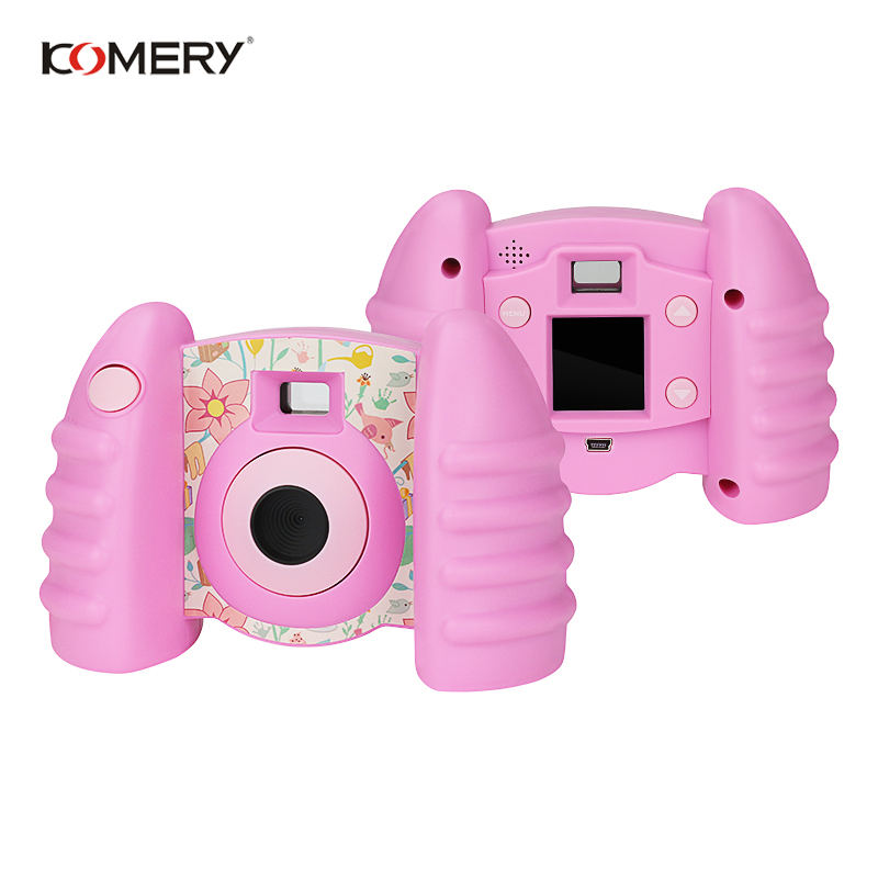 Image 2 - Genuine KOMERY Children Camera Toys For Children Camera Fresh Camcorders And Funny Automatic Camera Anti fall Healthy Material-in Consumer Camcorders from Consumer Electronics