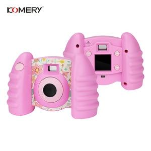 Image 2 - אמיתי KOMERY ילדי מצלמה צעצועים לילדים מצלמה טרי מצלמות וידאו ומצחיק אוטומטי מצלמה אנטי סתיו בריא חומר