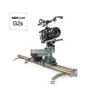 ASXMOV G2S беспроводной timelapse видео стабилизатор железнодорожных путей системы моторизованный видеокамера Долли слайдер для dslr видеокамера