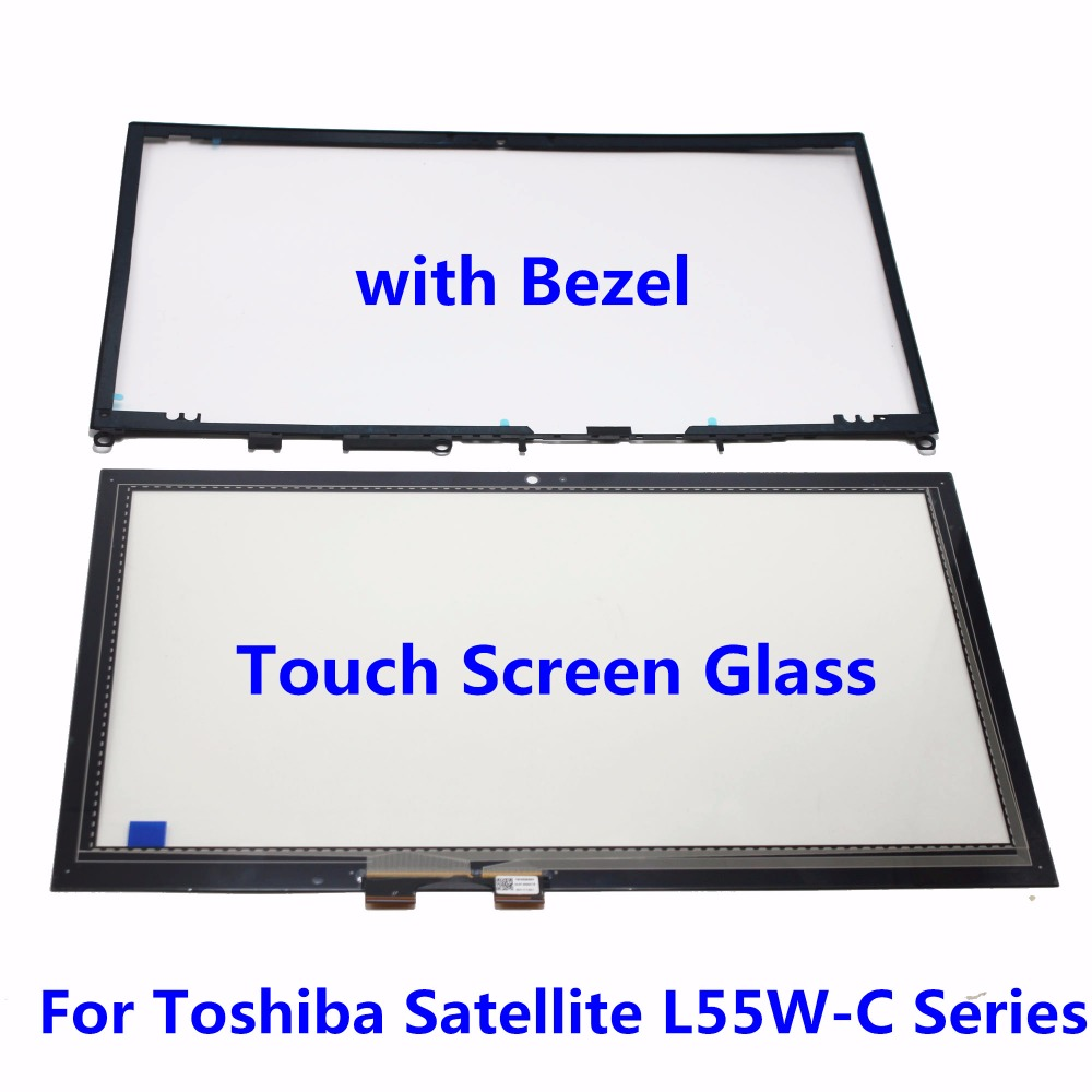 15.6 Tablet Touch Screen Glass Digitizer + Bezel Panel For Toshiba Satellite L55W-C Series L55W-C5280 L55W-C5278 L55W-C5150 motorcycle pillion rear seat fairing cover cowl for honda cbr250r 2011 2012 2013
