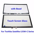 "15.6"" Tablet Touch Screen Glass Digitizer + Bezel Panel For Toshiba Satellite L55W-C Series L55W-C5280 L55W-C5278 L55W-C5150"