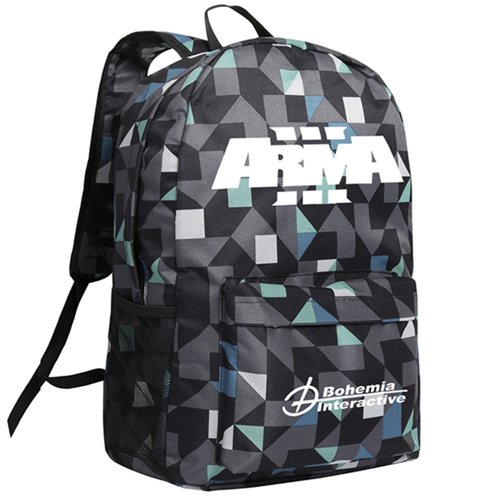 Armed Assault Backpack Camouflage Shoulder Bag Adults Men Mochila Bookbag