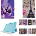 XX Fashion Flower Tree Series Tower With Card Slot Pu leather stand Cover Case For Samsung Galaxy Tab S2 9.7 '' SM T810 T815