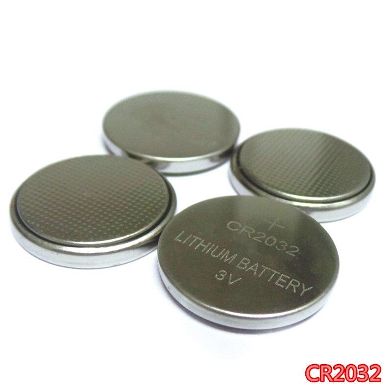 20 штук литий кнопку Батарея 320 мАч 3 В LIR2032 CR2032 br2032 cr2332 Батарейки для часов автомобильной пульта дистанционного управления Батарея
