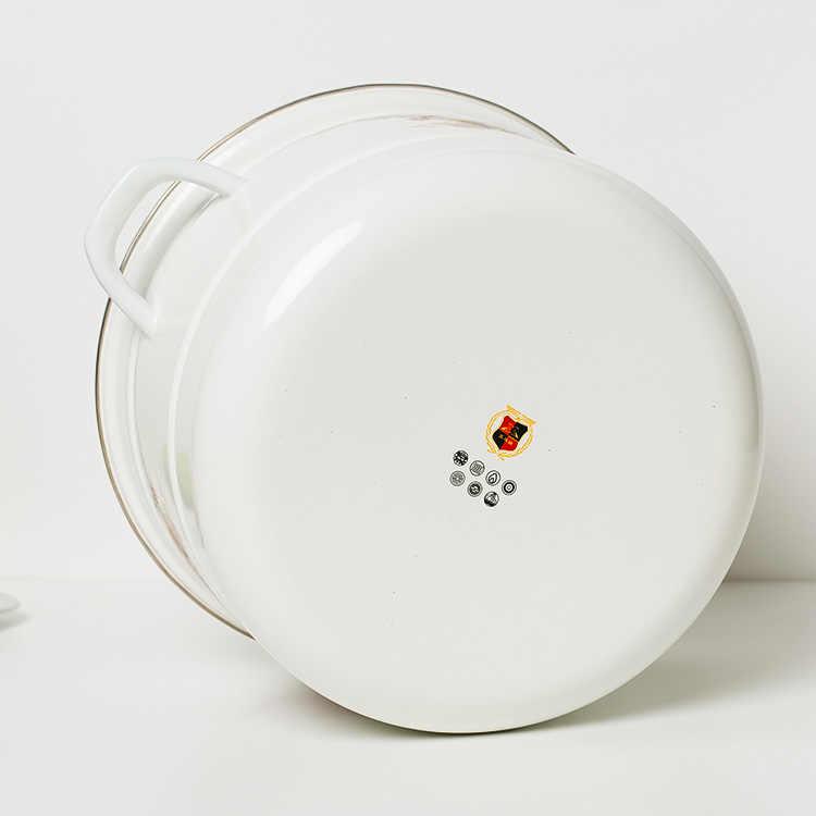 30 CM 11L dày men nồi hơi đôi pot đối với cảm ứng nồi hầm bằng thép không gỉ hấp túi mail gửi