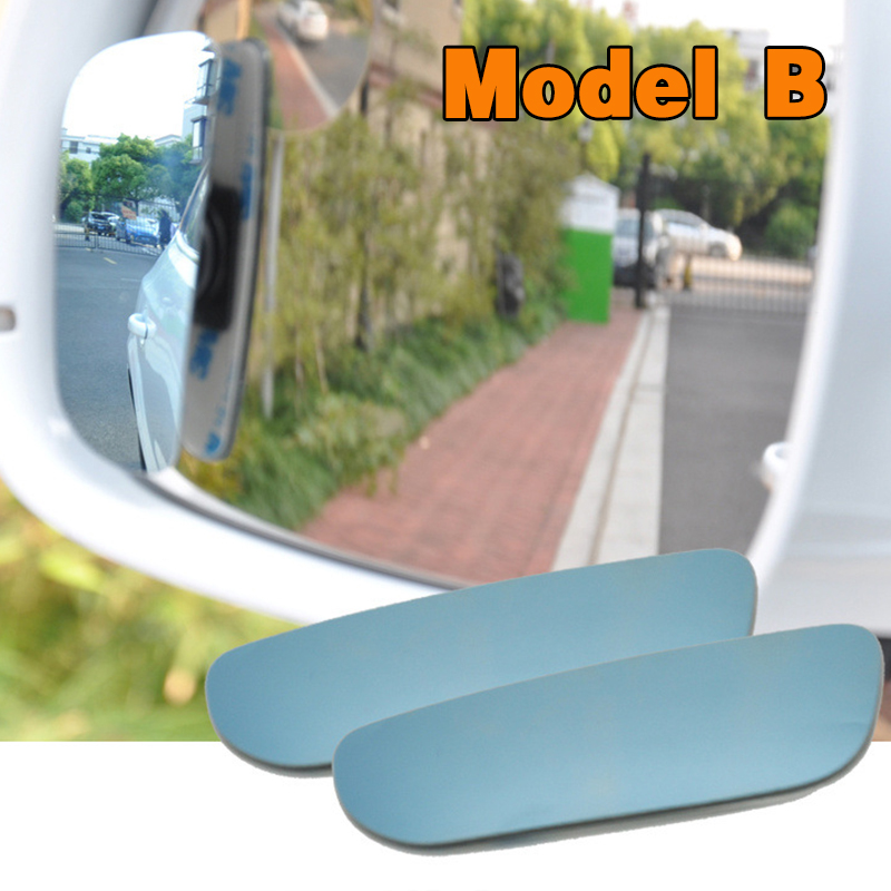 HTB1wSHplAZmBKNjSZPiq6xFNVXa0 2pcs/lot Car Accessories Small Round Mirror Car Rearview Mirror Blind Spot Wide angle Lens 360 degree Rotation Adjustable