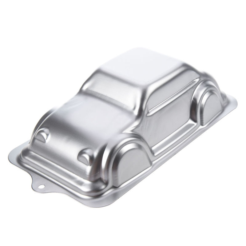 Newly Car Shape Aluminum Alloy Birthday Party Cakes Decoration Bakeware Mould DIY Fondant Cake Pan Mold Kitchen Baking Tools F 9